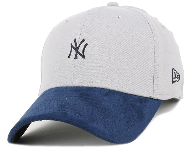 NY Yankees Suede Viz Mini Logo 39Thirty Flexfit - New Era