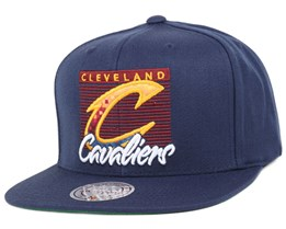 Cleveland Cavaliers Easy Three Digital Navy Snapback - Mitchell & Ness