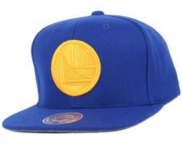 Golden State Warriors Melton Proper Snapback - Mitchell & Ness