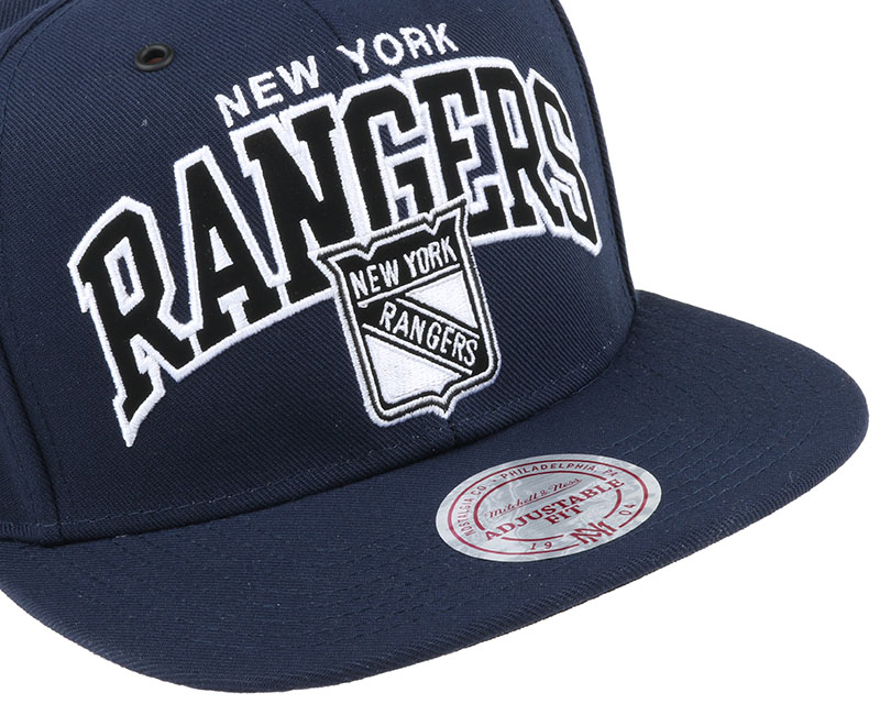 ny rangers black and white arch snapback mitchell ness casquette. Black Bedroom Furniture Sets. Home Design Ideas