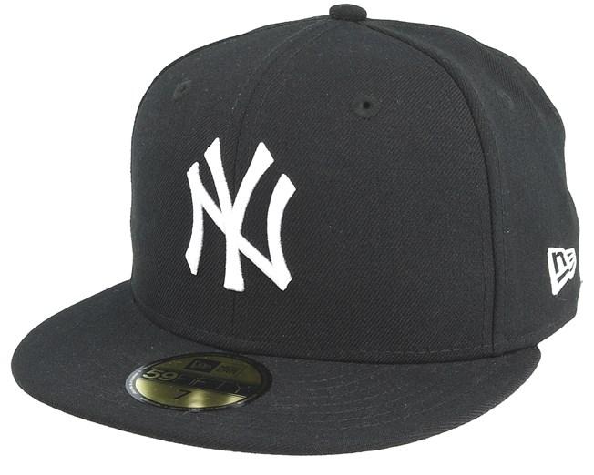 ... store new era ny yankees mlb basic black white 59fifty lippis  hatstore.fi 747b0 616f2 ad6b028fb9
