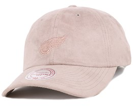 Detroit Red Wings Micro Suede Slouch Adjustable - Mitchell & Ness