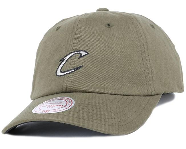 Cleveland Cavaliers Morbido Slouch Adjustable - Mitchell   Ness c95b33b9153b