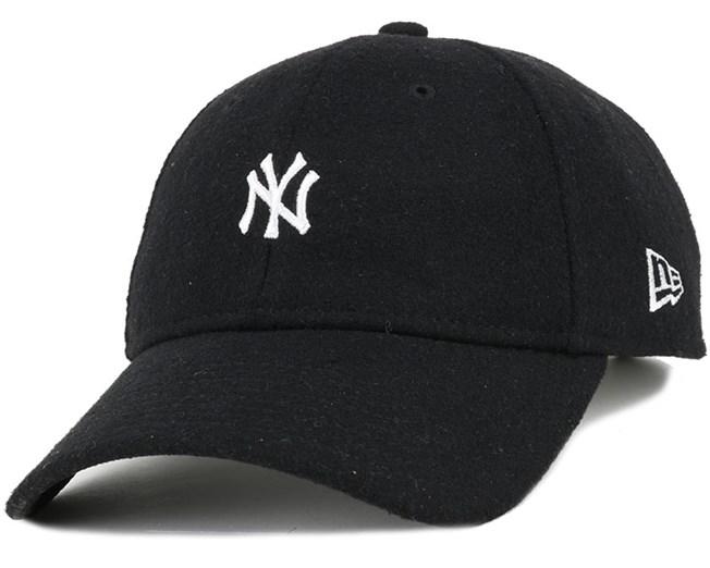 NY Yankees Melton Mini Classic Black 920 Adjustable - New Era