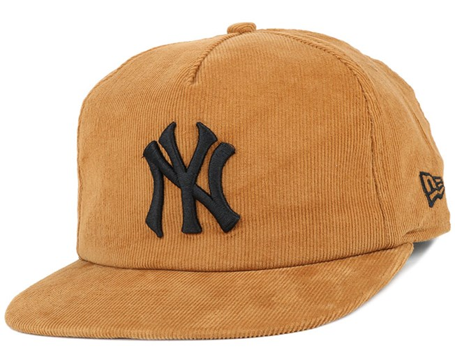 NY Yankees MLB Coop Cord Wheat 9Fifty Snapback - New Era