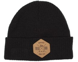 Fisherman Hex Black Beanie - New Era