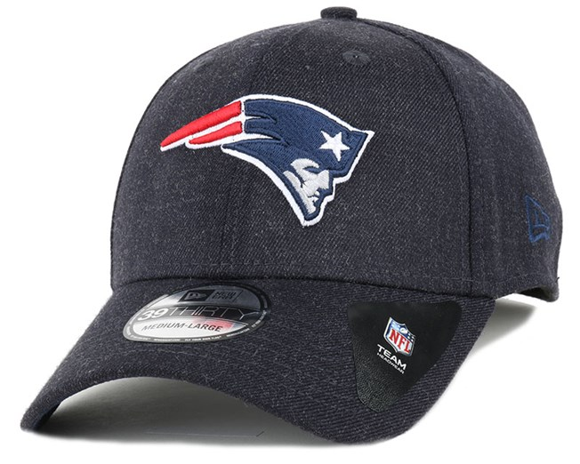 New England Patriots Heather Team 39Thirty Flexfit - New Era