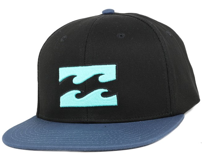 All Day Black/Blue Snapback - Billabong