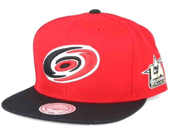 sports shoes 44b61 c4c0c ... hat with pom red spain carolina hurricanes nhl 2017 asg 2t snapback  mitchell ness b9823 532e7 ...