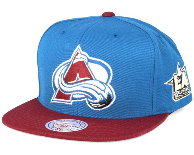 a1d44712a2e Colorado Avalanche NHL 2017 ASG 2T Snapback - Mitchell   Ness caps ...