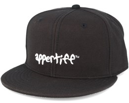 Conception Black/Black Snapback - Appertiff