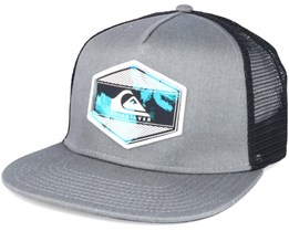 Morsen Light Grey Heather Snapback - Quiksilver