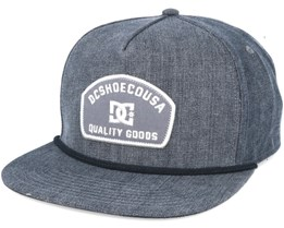 Denimo Black Snapback - DC