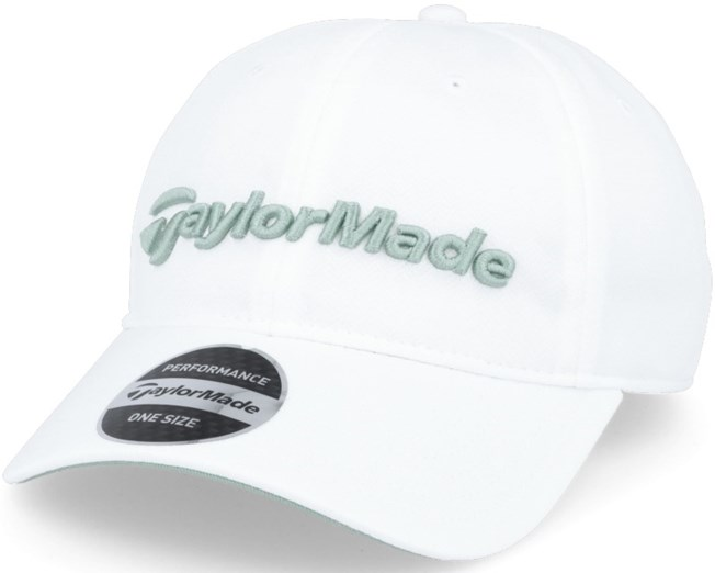 Radar Woman White/Green Adjustable - Taylor Made