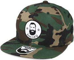 Beard'd Camo Snapback - Bearded Man