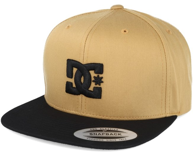 Snappy Amber Gold Snapback - DC