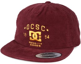 Cordbank Windsor Wine Snapback - DC