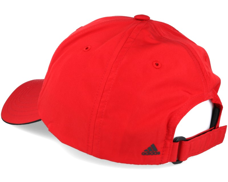 performance power red adjustable adidas caps. Black Bedroom Furniture Sets. Home Design Ideas
