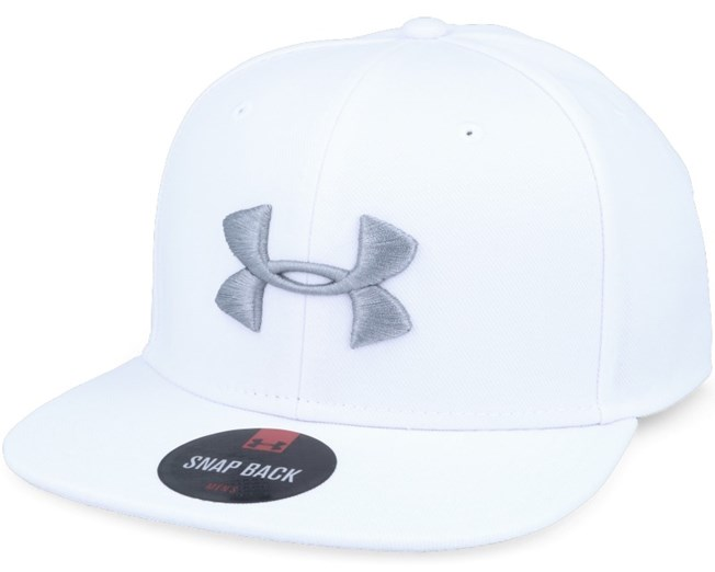Mens Elevate Update White Snapback - Under Armour