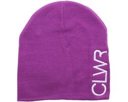 Logo Beanie Lilac  - CLWR