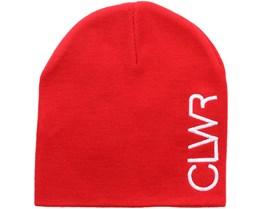 Logo Beanie Red  - CLWR