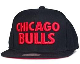 Chicago Bulls Title Snapback - Mitchell & Ness