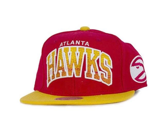 Atlanta Hawks NBA Arch Gradient Snapback - Mitchell & Ness