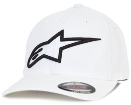 Logo Astar Flexfit White/Black - Alpinestars
