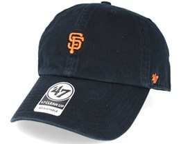 San Francisco Giants Abate Clean Up Black Adjustable - 47 Brand