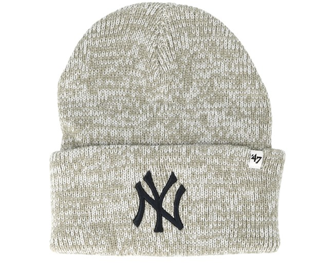 New York Yankees Brain Freeze Gray Cuff - 47 Brand beanies ... c82457c35ed5