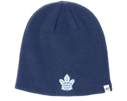 Toronto Maple Leafs Light Navy Beanie - 47 Brand