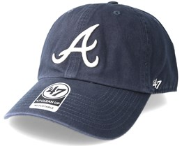 Atlanta Braves Clean Up Vintage Navy Adjustable - 47 Brand