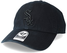 Boston White Sox Clean Up Black Adjustable - 47 Brand