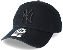 New York Yankees Clean Up Black Adjustable - 47 Brand