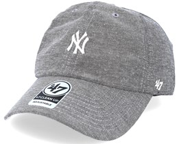 New York Yankees Monument Salute Grey Clean Up Adjustable - 47 Brand