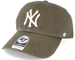 New York Yankees Clean Up Sandalwood Green Adjustable - 47 Brand