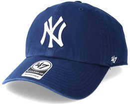 New York Yankees Clean Up Light Navy Adjustable - 47 Brand