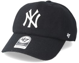 New York Yankees Droper Clean Up Black Adjustable - 47 Brand