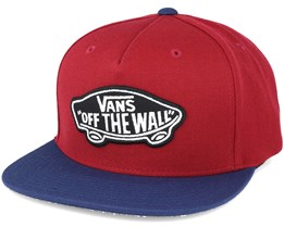 Classic Patch Red Snapback - Vans