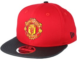 Manchester United 9Fifty Ballistic Nylon Red Snapback - New Era