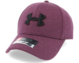 Heather Blitzing Raisin Red Flexfit - Under Armour