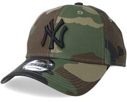 New York Yankees League Essential 9Forty Camo Black Adjustable - New Era 4a799ba2c2e3