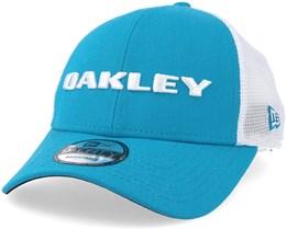 Heather Atomic Blue Trucker - Oakley