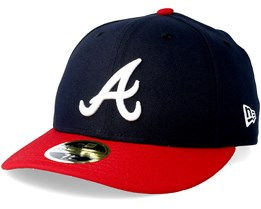 Atlanta Braves Game Authentic Collection Low Profile 59fifty - New Era