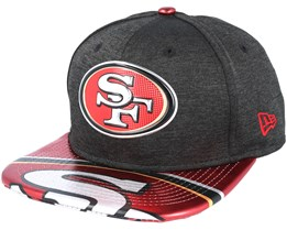 San Francisco 49ers Draft 2017 9Fifty Heather Black Snapback - New Era