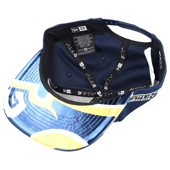 86ed6a84484cf4 ... discount code for los angeles rams draft 2017 9fifty navy snapback new  era caps hatstore 1d5a5