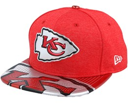 Kansas City Chiefs Draft 2017 9Fifty Red Snapback - New Era