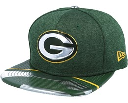 Green Bay Packers Draft 2017 9Fifty Green Snapback - New Era