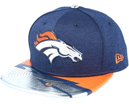 Denver Broncos Draft 2017 9Fifty Navy Snapback - New Era