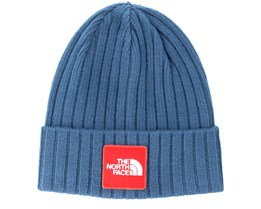 Logo Box Shady Blue Cuff - The North Face